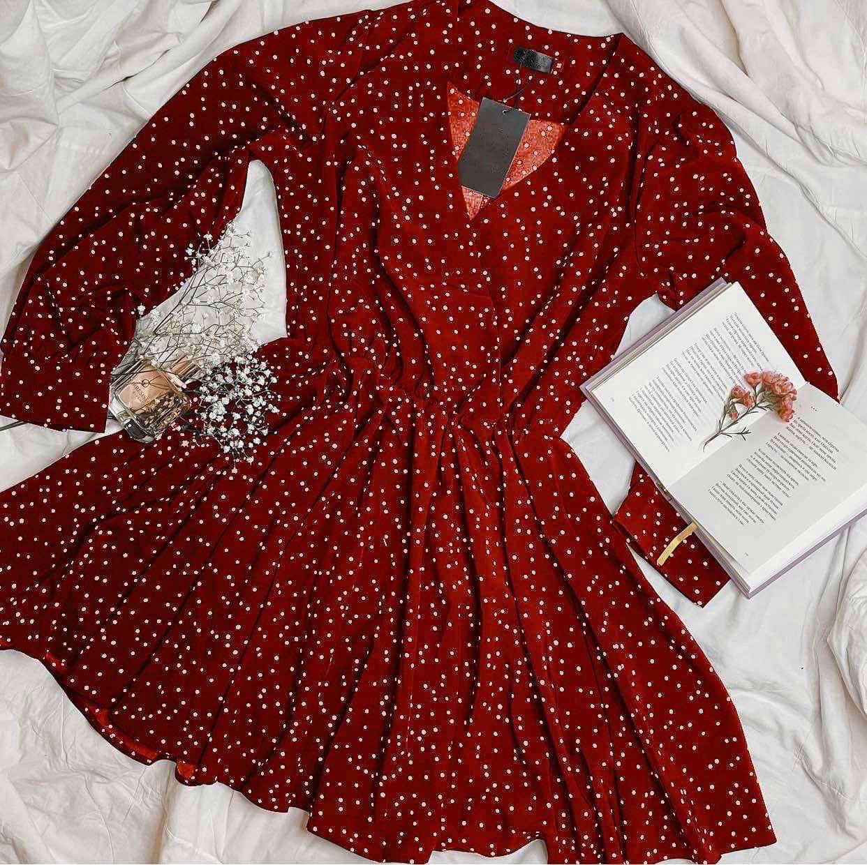 Жіноче плаття, софт, р-р універсальний 42-46 (червоний)