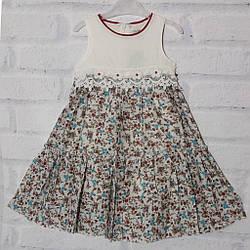 Платье детское нарядное для девочки с коротким рукавом,. Bushra (размер 3(98))