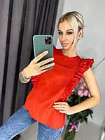 Женская летняя блуза с открытой спиной, фото 1