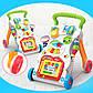 Дитячі ходунки каталка для малюків 0801 на батарейках, фото 4