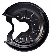 Захист заднього гальмівного диска ліва VW Golf VI '09-12 (Klokkerholm) D=310 mm