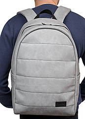 Рюкзак унисекс Sambag Zard LRT нубук Светло-серый (25088060)
