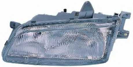 Фара Hyundai H-1 (97-00) ліва мех.рег. Depo 92101-4A000