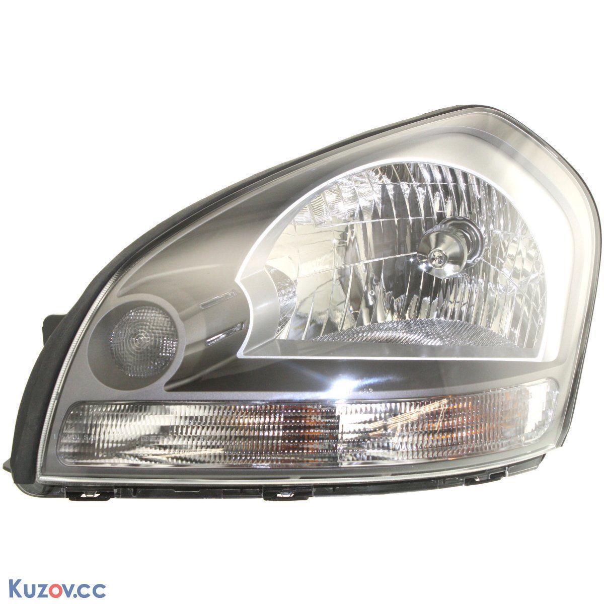 Фара Hyundai Tucson електрична ліва чорна (DEPO) 921032E010