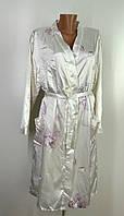 Жіночий атласний халат  Розмір 40-42 ( Н-13)