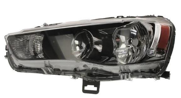 Фара Mitsubishi Outlander XL (10-12) їв.рег., чорна рамка, ліва Depo 8301B553