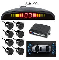Парктроник для автомобиля Car Radar, на 8 датчиков, размер 99x30x17мм, парковочный радар, парковочные системы, фото 1