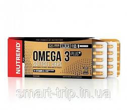 Риб'ячий жир Nutrend Omega 3 Plus vitamin D Softgel Caps 120 капсул