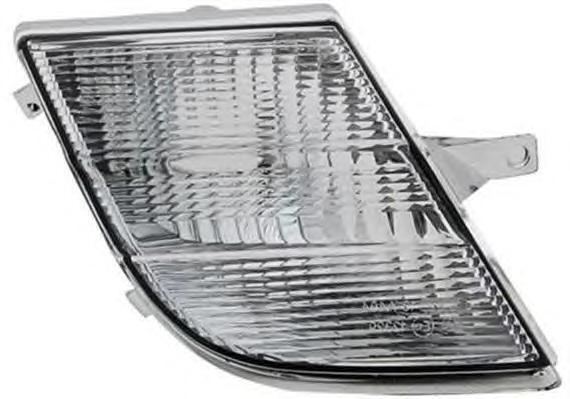 Покажчик повороту Nissan Micra K12 (05-07) правий білий DEPO 26130BC400
