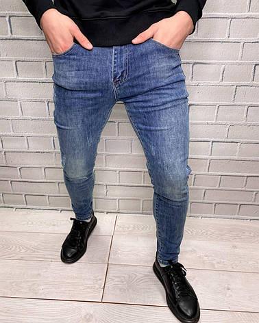 Джинсы мужские New Boy Стильные джинсы из хлопка для мужчин Демисезонные, фото 2