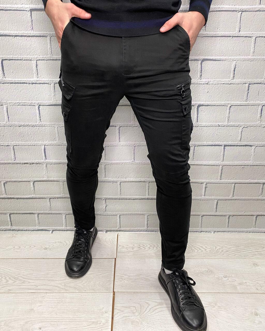 Джинсы Off White Черный Мужская одежда