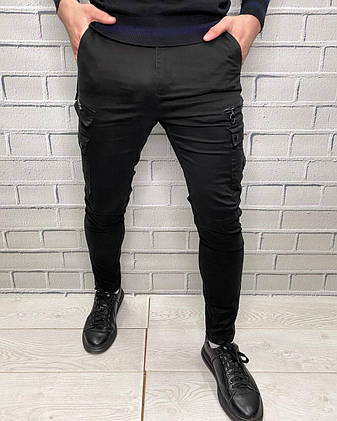 Джинсы Off White Черный Мужская одежда, фото 2