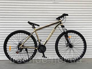 "Гірський велосипед Toprider ""680"" 29 (19) alloy Shimano золотий"