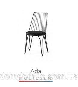 """Стілець """"Ada""""(метал, м'я/сидушка), Mobilgen, Туреччина"""