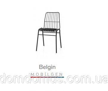 Стілець BELGIN san(метал, м'я/сидушка), Mobilgen, Туреччина