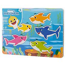 Пазл дерев'яний «Baby Shark»