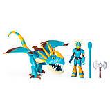 Как приручить дракона 3: набор из дракона Громгильды и всадника Астрид, фото 2