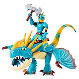Как приручить дракона 3: набор из дракона Громгильды и всадника Астрид, фото 4