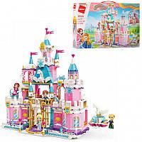 Конструктор для девочек Qman Brick Большой Замок Принцесс с 4-мя фигурками, 801 деталь арт.2616