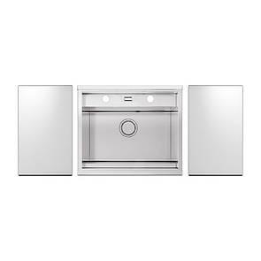 Набір Apell мийка кухонна Regola Polish RE601IKITW + змішувач Telescopic APF1260CR