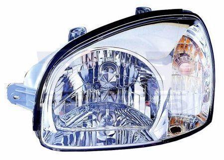 Фара Hyundai Santa Fe '01-06 права мех.рег. Depo 92102-26025