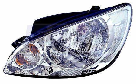 Фара Hyundai Getz (05-11) ліва мех.рег. Depo 92101-1C500