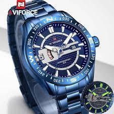 Наручний годинник Naviforce NF9157 Чоловічі годинник NEW Швейцарський Бренд на руку Кварцові ТОП!