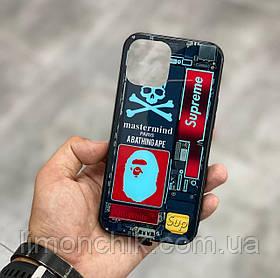 Чохол на айфон iphone з різнобарвною Світлодіодним підсвічуванням накладка для айфон лід 22-ве забарвлення