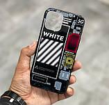 Чехол на айфон iphone с разноцветной Led подсветкой накладка для айфон лед 22-ве расцветки, фото 3