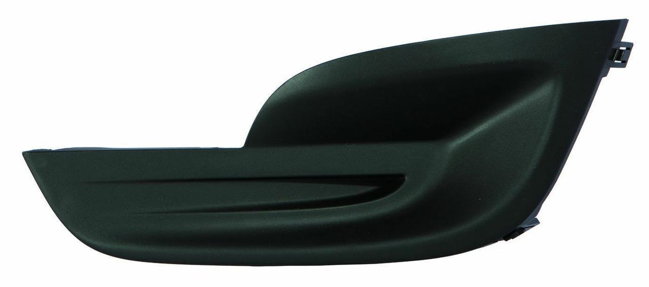 Решітка переднього бампера ліва Nissan Altima '12-16 (LKQ) 622573TA0A