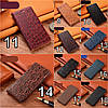 """Чохол книжка з натуральної шкіри протиударний магнітний для VIVO Z5x / Z1 Pro """"JACOSA"""", фото 5"""