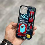 Чохол на айфон iphone з різнобарвною Світлодіодним підсвічуванням накладка для айфон лід 22-ве забарвлення, фото 5