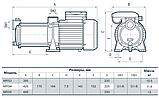 Відцентровий багатоступінчастий насос Sprut MRS 5, фото 3