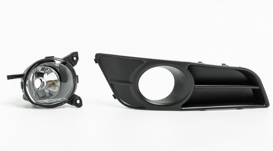 Протитуманна фара (ВТФ) Toyota Corolla 05-07 права (Depo) з решіткою, хетчбек 812100F010