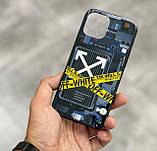 Чехол на айфон iphone с разноцветной Led подсветкой накладка для айфон лед 22-ве расцветки, фото 10