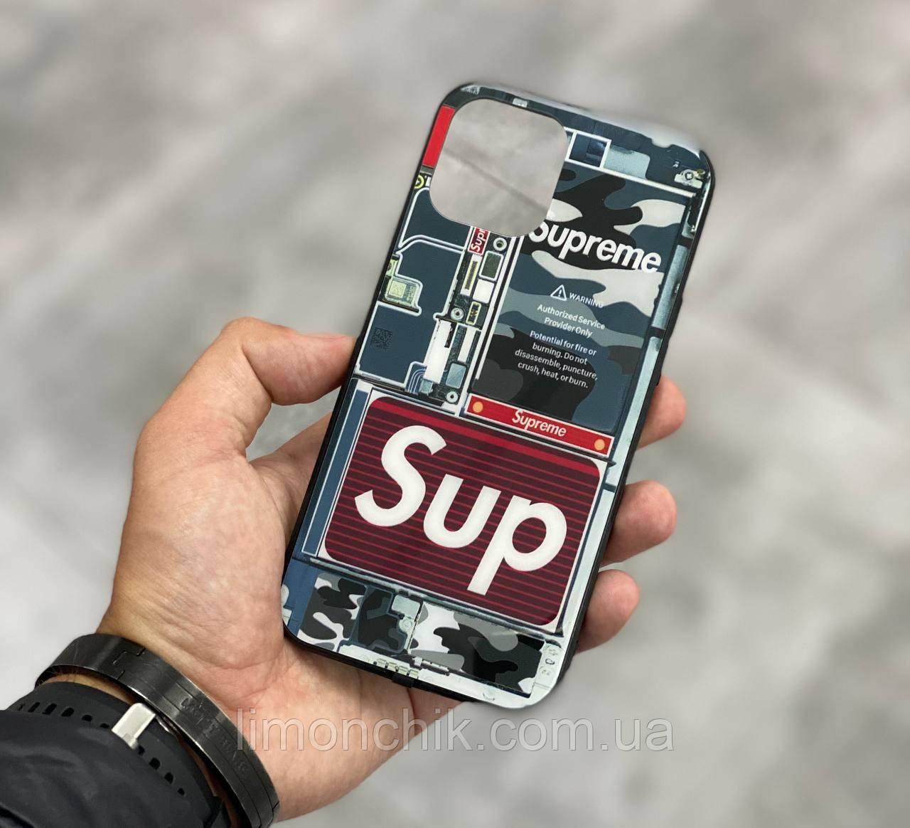 Чехол на айфон iphone с разноцветной Led подсветкой накладка для айфон лед 22-ве расцветки