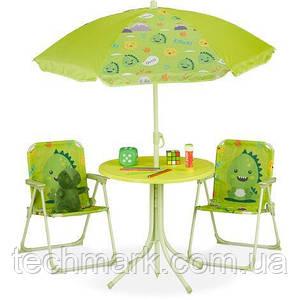 Набор мебели для пикника детский, складной стол, 2 кресла, зонтик ТМ