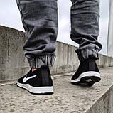 Кросівки чоловічі літні сіточка чорні (БН-15ч), фото 3