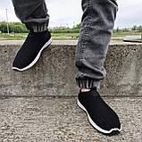 Кросівки чоловічі літні сіточка чорні (БН-15ч), фото 5