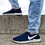 Кросівки чоловічі літні сіточка сині (Бн-15сн), фото 3
