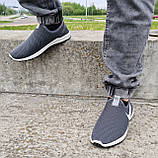 Кросівки чоловічі літні сіточка сірі (Бн-15ср), фото 2
