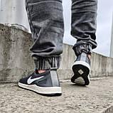 Кросівки чоловічі літні сіточка сірі (Бн-15ср), фото 5