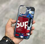 Чохол на айфон iphone з різнобарвною Світлодіодним підсвічуванням накладка для айфон лід 22-ве забарвлення, фото 3