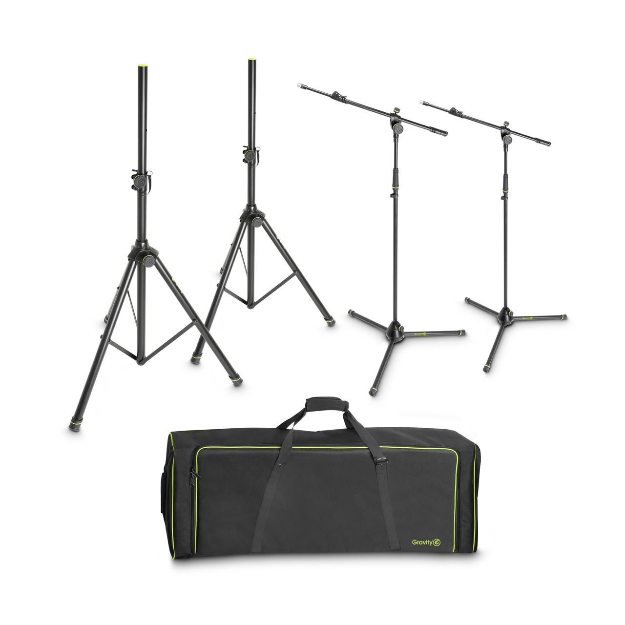 Набор микрофонных и спикерных стоек с сумкой GSSMSSET1