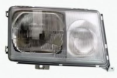 Фара Mercedes W124 '85-89 права їв.рег DEPO 1248205061