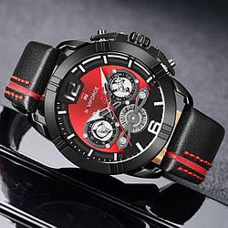Наручные часы Naviforce NF9158 Мужские годинник NEW Швейцарские Бренд на руку Кварцевые ТОП!