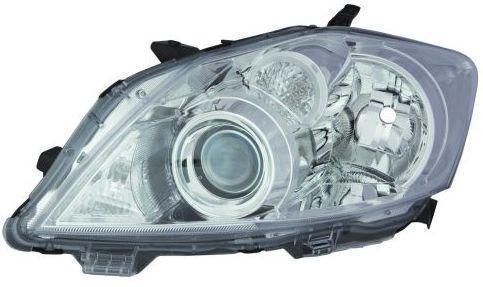Фара Toyota Auris 10-12 ліва (Depo) хром електричних ма. 212-11Q7L-LDEM1 8111002A40