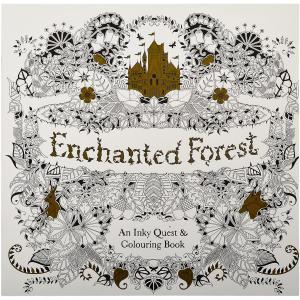 Розмальовка Антистрес Enchanted Forest