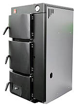 Котел універсальний Житомир-9 КС-ГВ-020 СН/АОТВ-15 (двоконтурний) газ дрова, фото 2