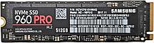 Накопитель SSD 512GB NVMe 3D V-NAND MLC M.2 Samsung 960 PRO MZ-V6P512